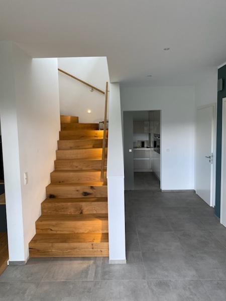 Architekturbüro Arlt, Einfamilienhaus, Innenansicht Flut mit Treppe