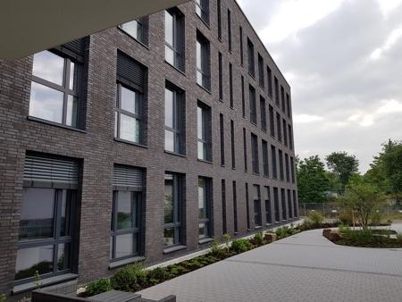 Architekturbüro Arlt, Gewerbeobjekt, Ausschnitt Rückansicht