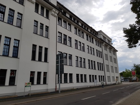 Architekt Arlt, Alte Lederfabrik in MG
