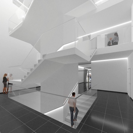 Architekturbüro Arlt, Viersen, Vision Treppenhaus